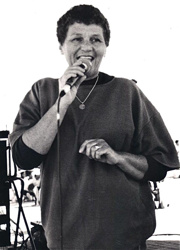 Zelda Benjamin's unlikely road to jazz singer | MUSIC LEGENDS OF