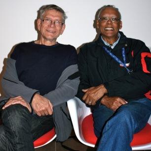 Respect's Mel da Silva and Noel Kistima