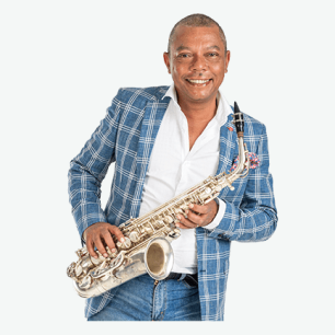 Clarence Ford with Sax
